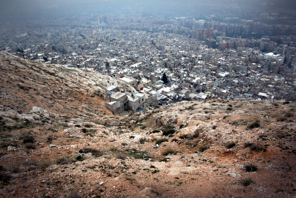 View of Damascus from the top of Mt Qasioun. Photo by Reuben Brand