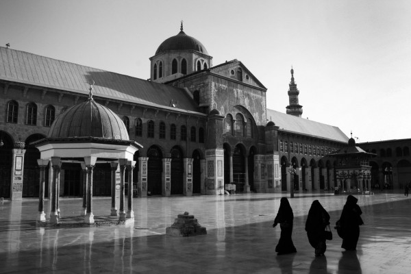 Umayyad Mosque, Damascus. Photo by Reuben Brand