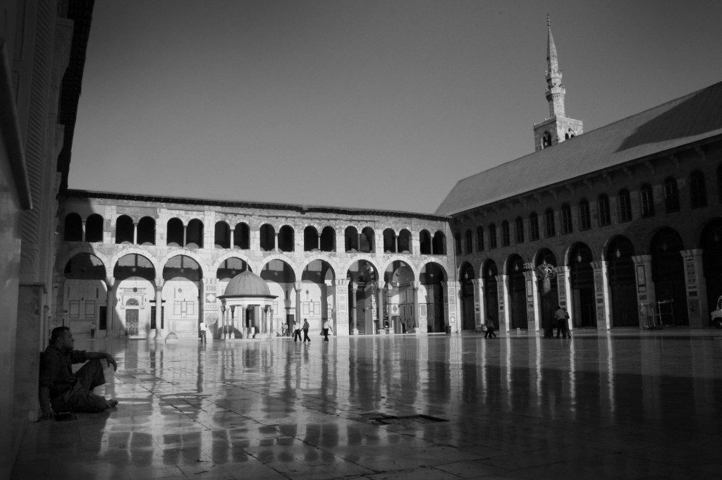 Umayyad Mosque, Damascus. Photo by Reuben Brand