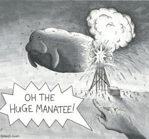Oh The Huge Manatee!